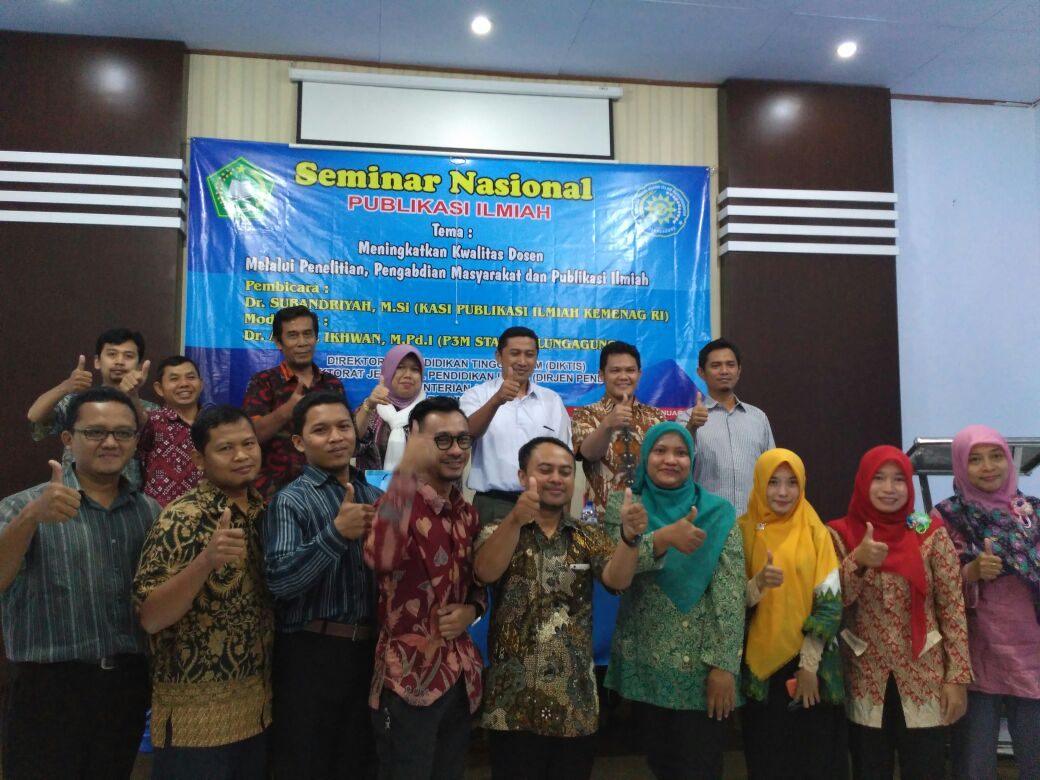 Lokakarya Nasional Publikasi Ilmiah: Pembinaan Jurnal Ilmiah