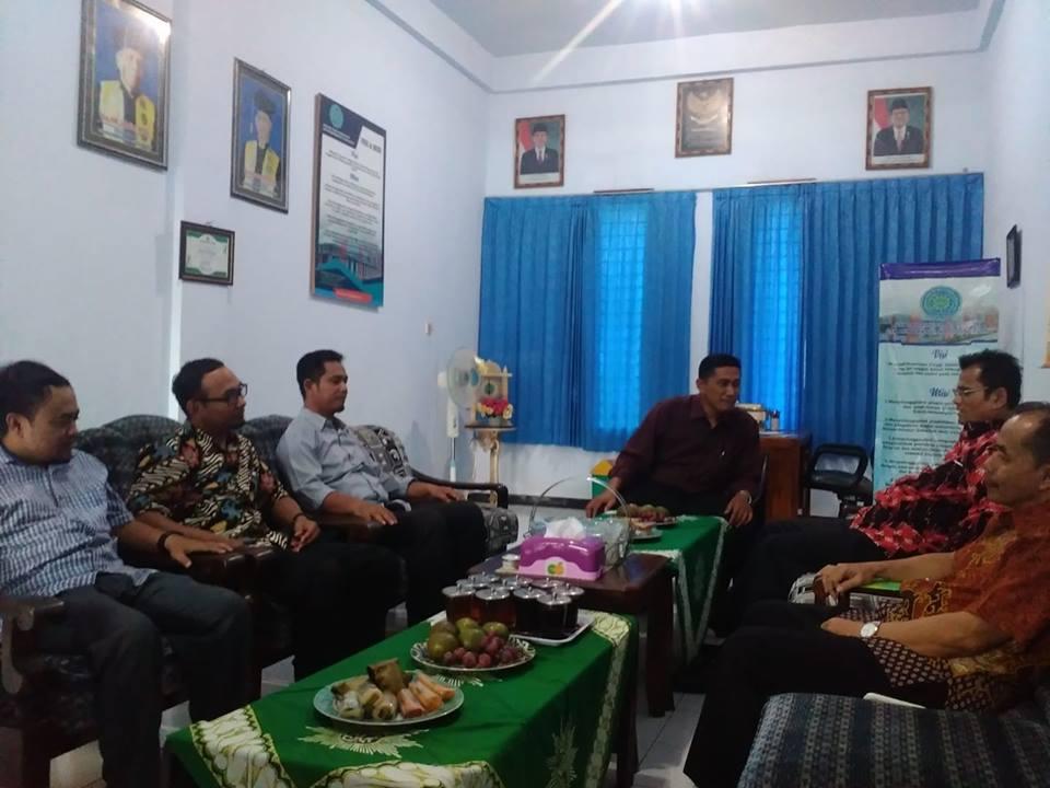 Stai Muhammadiyah Tulungagung Menerima kunjungan dari Badan Penyelenggara Jaminan Produk Halal (BPJPH) Kemenag RI